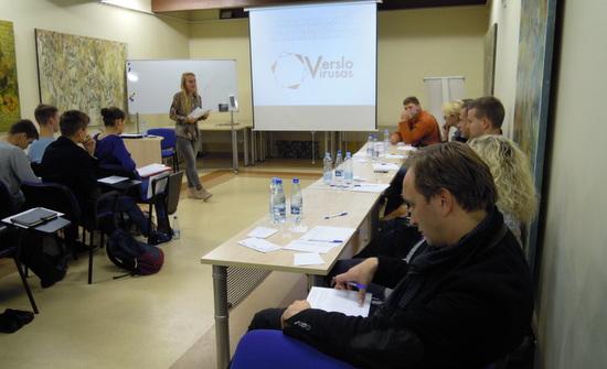 Jau įvyko pirmasis Verslumo mentorystės susitikimas